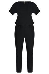 Kombinezon damski w kolorze czarnym