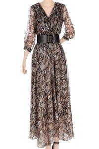 Sukienka damska 4654 motyw węża