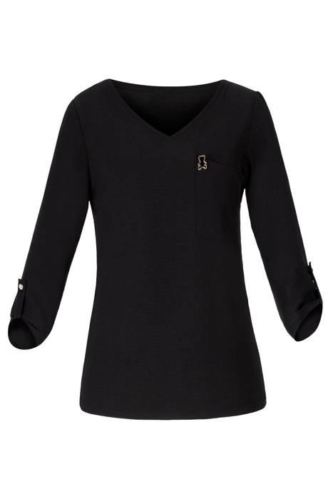 Bluzka damska 4224 czarna