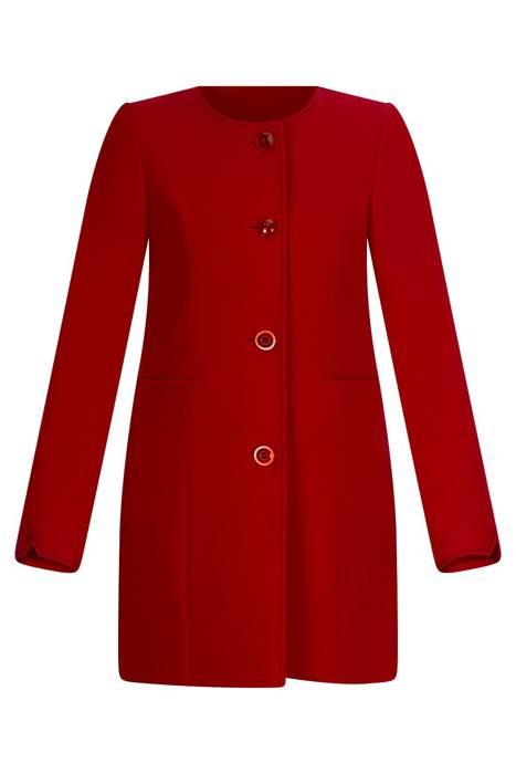 Damska kurtka 027 czerwona