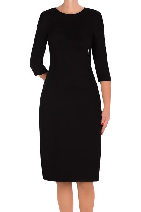 Dzianinowa sukienka Nadia czarna