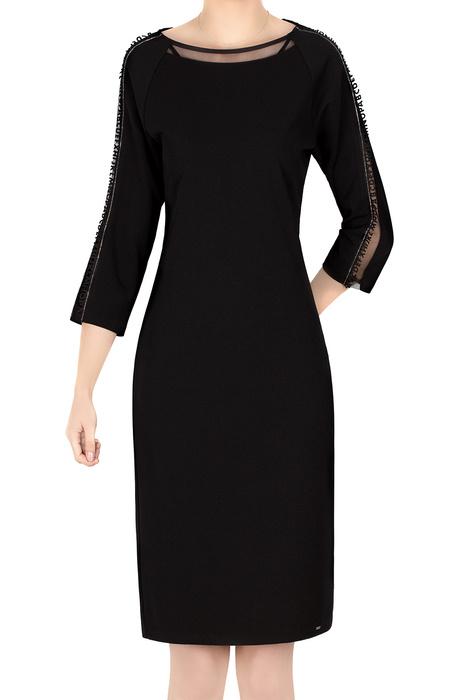Elegancka sukienka 4785 czarna