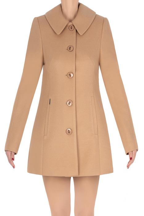 Klasyczny płaszcz Huna Marta camel 3266