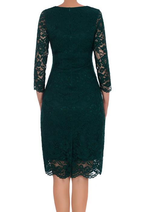 Koronkowa sukienka Rene Kinga zielona