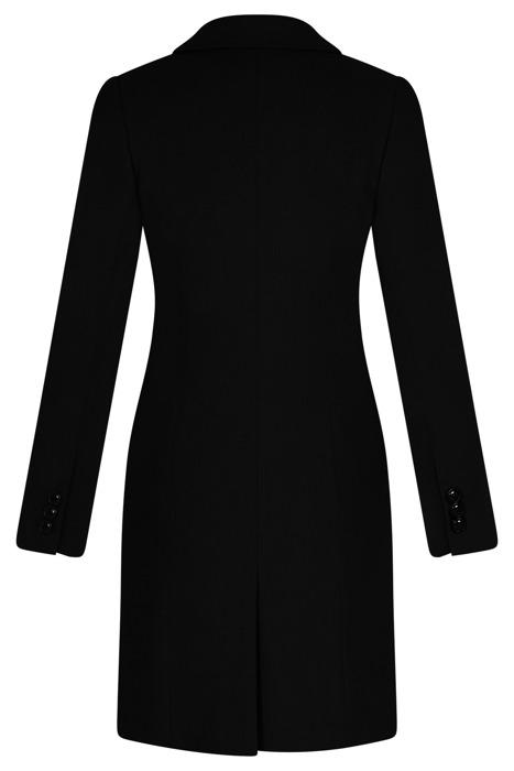 Płaszcz dyplomatka AnMar czarny na guziki