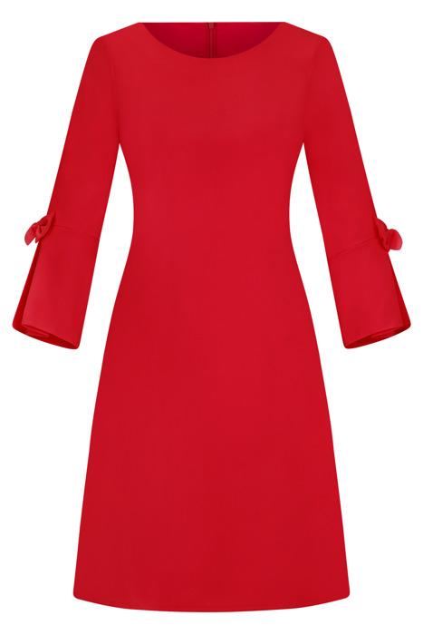 Sukienka Kama I czerwona trapez