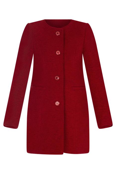 Wiosenny płaszcz, kurtka damska czerwona 3105