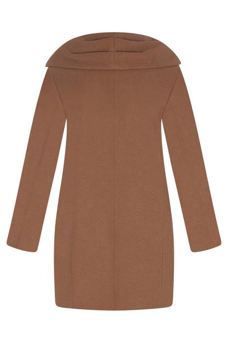 Zimowa kurtka, płaszcz damski camel 3111