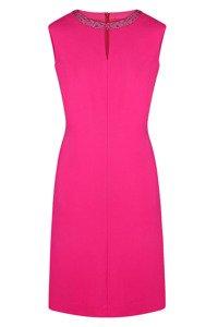 Sukienka Dagon 2055 różowa